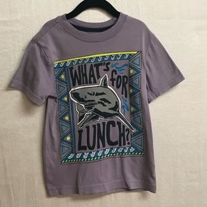 "Gymboree Boys ""What's for Lunch"" Shirt-Small (5/6)"